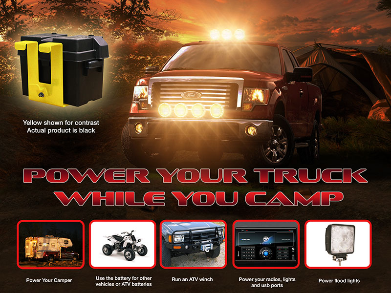 POWER YOUR TRUCK WHILE YOU CAMP